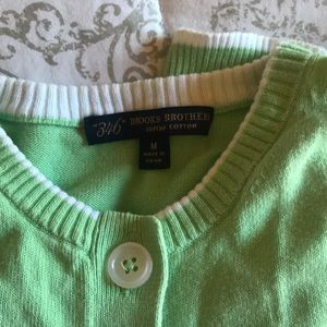 Brookes Brothers Cotton Sweater Set